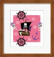 Framed Ahoy Pirate Girl I