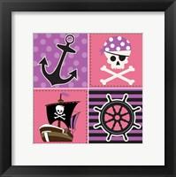 Framed Ahoy Pirate Girl II