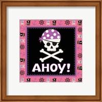 Framed Ahoy Pirate Girl III