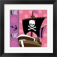 Framed Ahoy Pirate Girl V