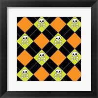 Framed Angst Pumpkin IV