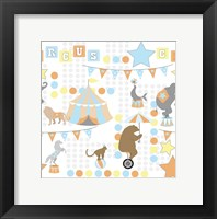 Framed Baby Big Top V Blue