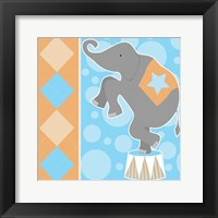 Framed Baby Big Top IX Blue