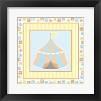 Framed Baby Big Top X Blue