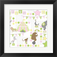 Framed Baby Big Top V Pink