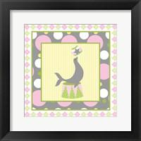Framed Baby Big Top VI Pink