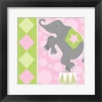 Framed Baby Big Top IX Pink