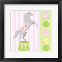 Framed Baby Big Top XI Pink