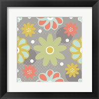 Butterflies and Blooms Tranquil IV Framed Print