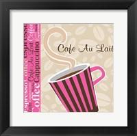 Framed Cafe Au Lait Cocoa Punch I