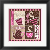 Framed Cafe Au Lait Cocoa Punch XIII