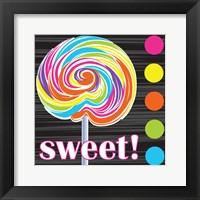 Candy Craze I Framed Print