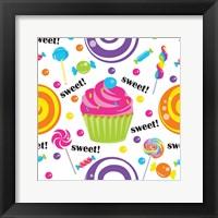 Candy Craze VI Framed Print
