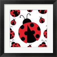 Framed Ladybug II