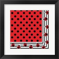 Framed Ladybug III
