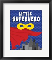 Framed Little Superhero