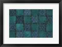 Framed Mosaic Tiles IV