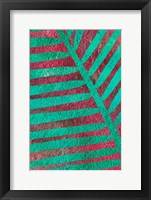 Framed Palm Leaf Shade II