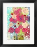 Framed Bright Floral