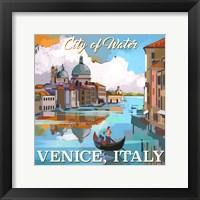 Framed Venice, Italy
