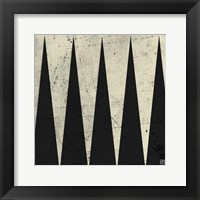 Framed Backgammon Antique