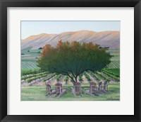 Framed Frichette Winery