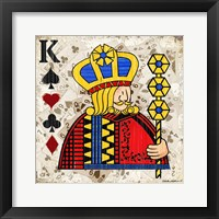 Framed King of Spades