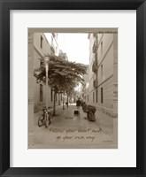 Framed Traveler Sepia