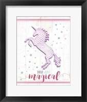 Framed Magical Unicorn
