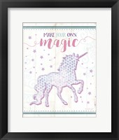 Framed Magic Unicorn