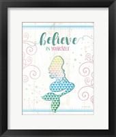 Framed Believe Mermaid