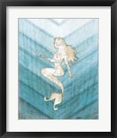 Framed Coastal Mermaid II