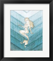 Framed Coastal Mermaid II