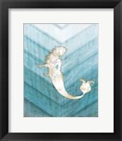Framed Coastal Mermaid IV