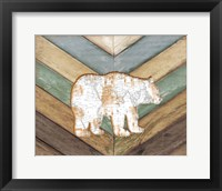 Framed Lodge Bear