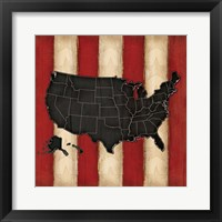 Framed United States