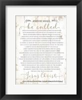 Framed Names of Christ