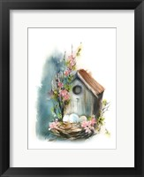 Framed Bird House