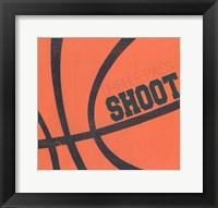 Framed Dribble, Pass, Shoot