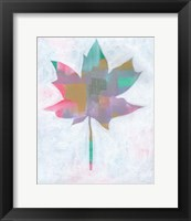 Framed Leaf Abstract II