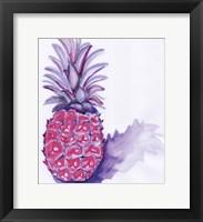Framed Purple Pineapple