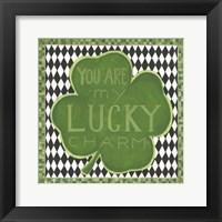 Framed Lucky Charm