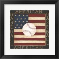 Framed American Baseball