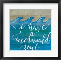 Framed Mermaid Soul
