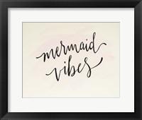 Framed Mermaid Vibes