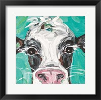 Framed Oreo Cow