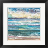Framed Ocean View I