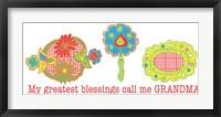 Framed Greatest Blessings