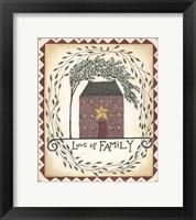 Framed Love of Family