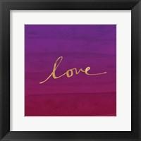 Framed Love - Purple